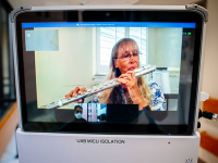 Alabama Symphony Orchestra musicians perform virtual concerts for sickest COVID-19 patients at UAB Hospital