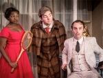"Theatre UAB presents Tom Stoppard's metaphysical murder mystery ""The Real Inspector Hound"" Feb. 22-26"