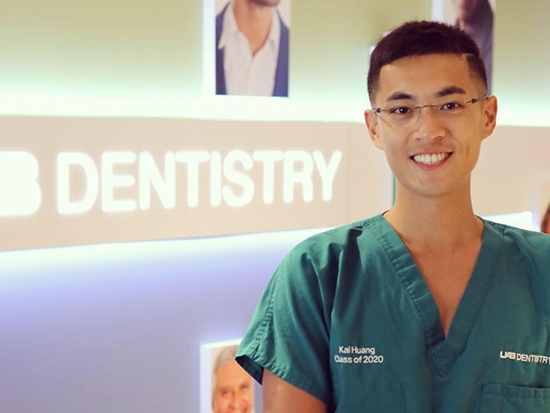 Huang elected vice president of the American Student Dental Association