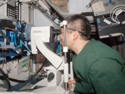 Preserving vision for astronauts