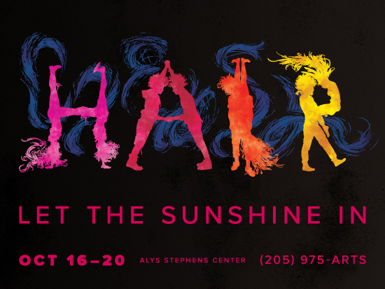 """Theatre UAB presents """"Hair: The American Tribal Love-Rock Musical,"""" Oct. 16-20"""