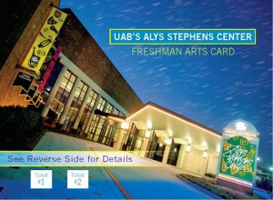UAB treats freshmen to free shows at UAB's Alys Stephens Center