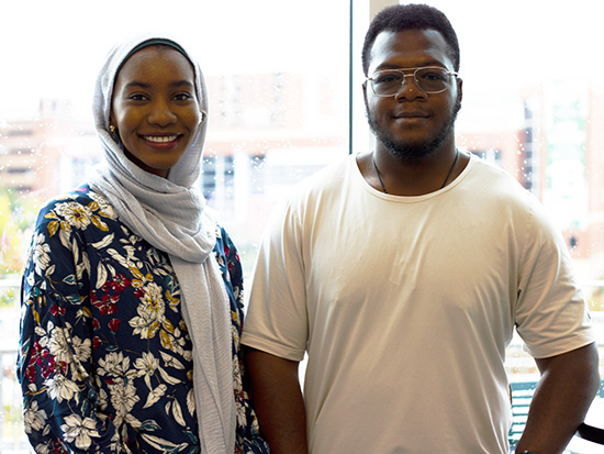 Self-discovery and addiction recovery lead two UAB students to pursue careers in psychology, lands them a unique fellowship