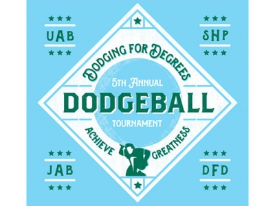 Achieve greatness with the fifth annual Dodging for Degrees tournament