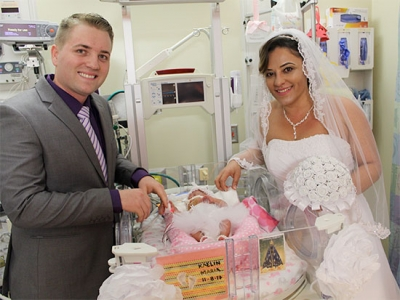 UAB community rallies together to host wedding in the NICU