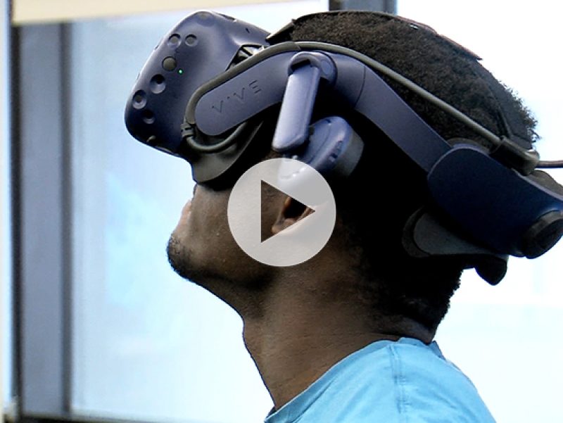 Virtual Reality Studio opens at UAB to expand education, research into a 3D environment
