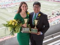 Ryan Wong and Yulianna Jimenez win Mr. and Ms. UAB Scholarship Competition