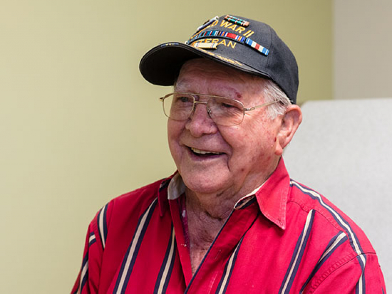 Heart procedure won't slow down 97-year-old World War II veteran