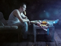 New study links short sleep to distracted secondary eating and drinking