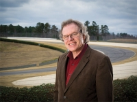 Engineering professor recognized for lifesaving SAFER Barriers in auto racing