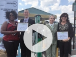 UAB recognizes two downtown businesses for expanding electric vehicle infrastructure in Birmingham