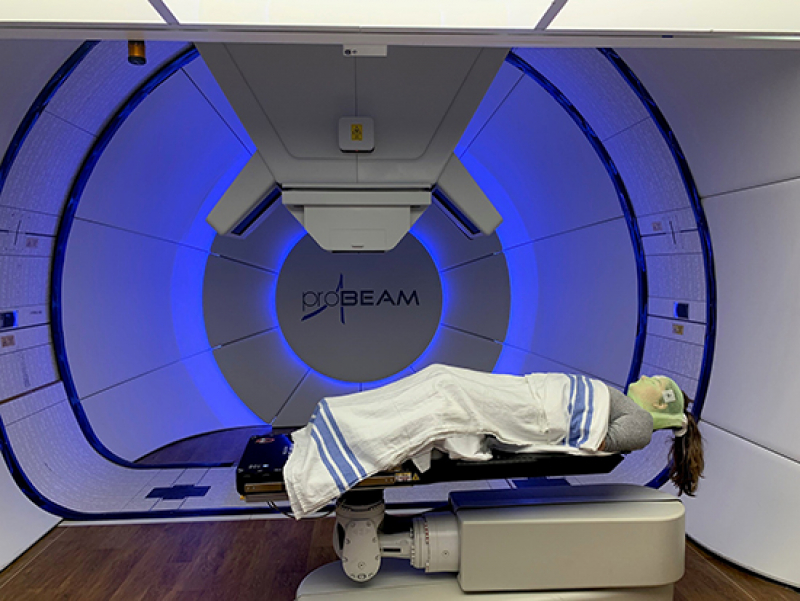 Proton therapy center marks one-year anniversary