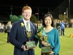 Isabella Mak and Eli Ussery named winners of 35th annual Mr. and Ms. UAB Scholarship Competition