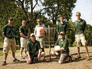 UAB Disc Golf Team competes, coached by world champion