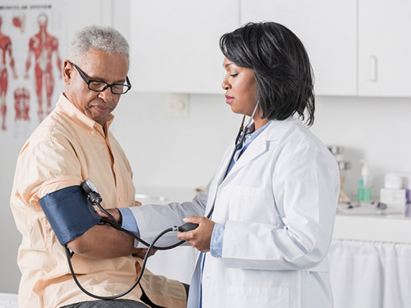 Nearly half of U.S. adults have high blood pressure