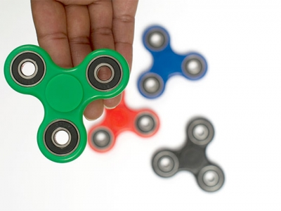 Fidget spinners: tool or toy?