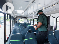 New system will better sanitize buses on UAB campus