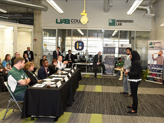 "Blazer Innovation Challenge student winners announced in ""Shark Tank""-style competition"