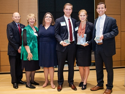 Health Administration students win Baylor University case competition