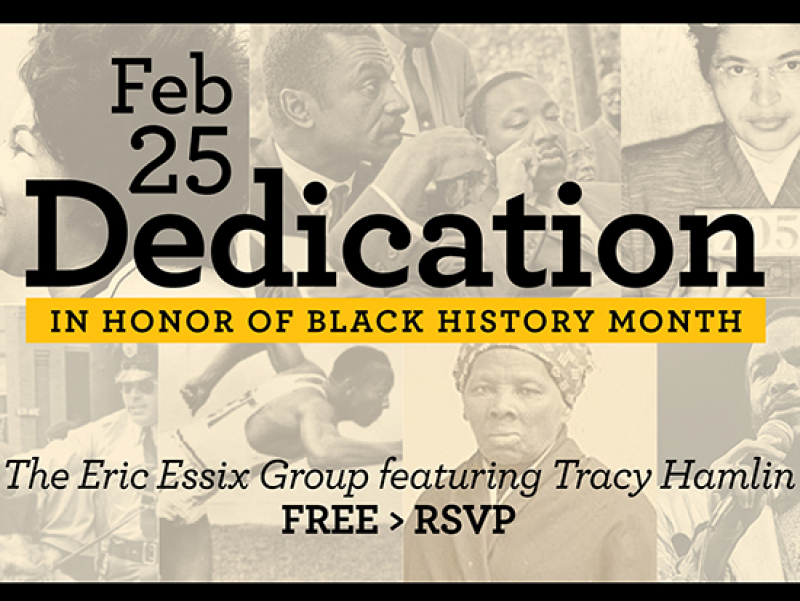"Stream free concert ""Dedication"" from Eric Essix Group, Tracy Hamlin on Feb. 25"