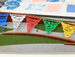 UAB prayer flags to welcome Dalai Lama in outdoor AEIVA installation Oct. 20-26