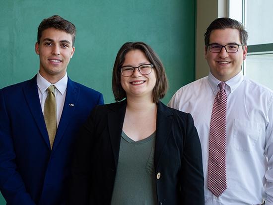 Three UAB STEM undergraduates named Goldwater Scholars