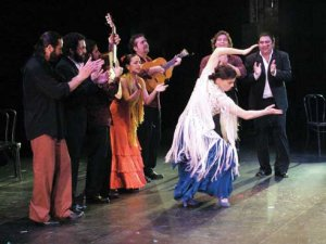Noche Flamenca dancers set to step onto Alys Stephens Center stage
