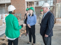 UAB approaches new milestones in residence hall, student center construction