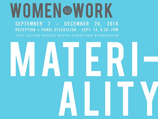 "UAB faculty, alumna in third ""Women with their Work"" exhibition"