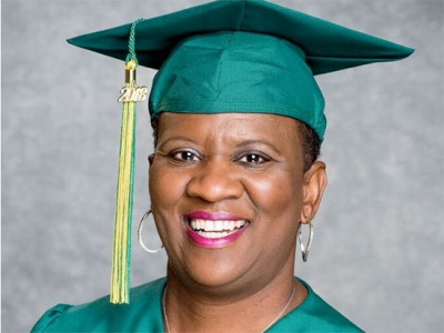 Breast cancer survivor finds healing through comedy, earning second bachelor's degree