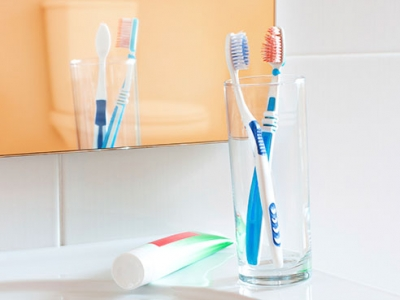 Clean before you clean — what's on your toothbrush just might surprise you