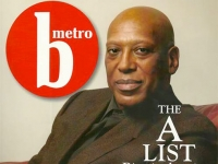 Henry Panion on cover of B-metro magazine