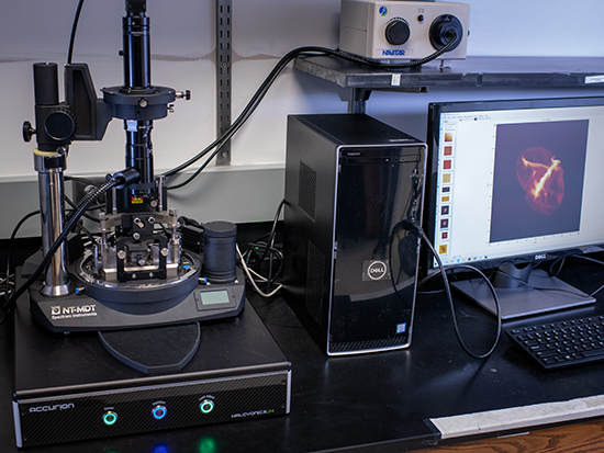 Atomic force microscope awarded to UAB