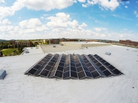 UAB unveils largest solar-energy system in Birmingham, earns silver STARS rating for sustainability