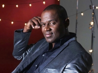 Brian McKnight, backed by full band, at UAB's Alys Stephens Center on Feb. 11