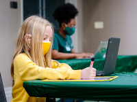 Working parents at UAB have additional resources to ease the stress of virtual learning for children