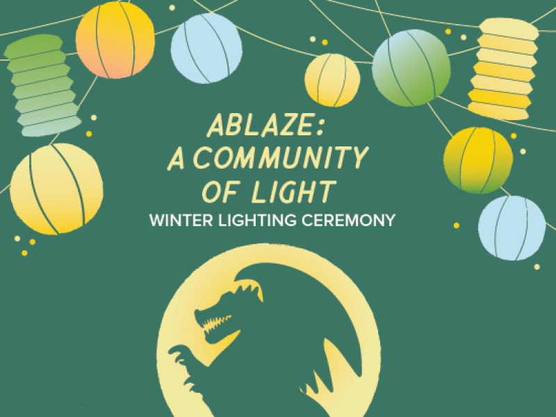 "Canceled due to rain: Let your light shine Jan. 15 at UAB's ""Ablaze: A Community of Light"""