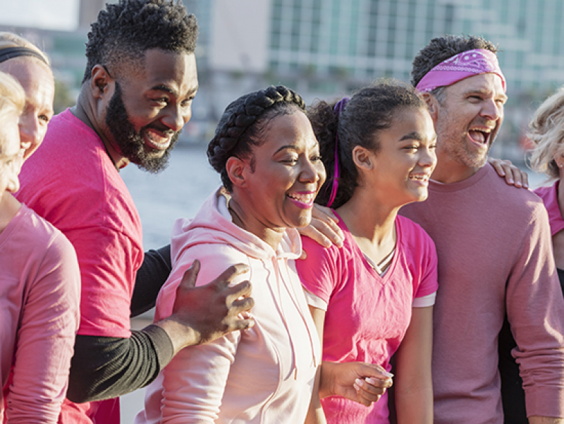 "Annual ""Real Men Wear Pink"" event promotes awareness and support during Breast Cancer Awareness Month"