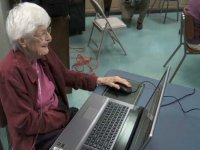Move over youngsters, grandma's on Facebook