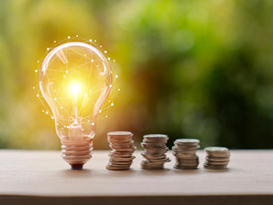 Four ways to save energy and money while working from home