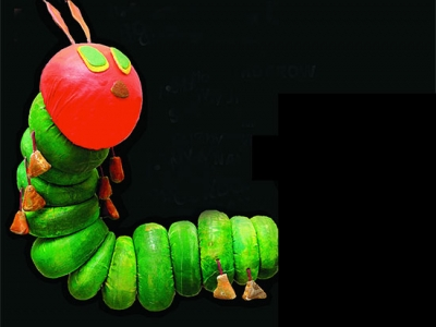 Family fun with three Eric Carle stories, live in one show Nov. 11