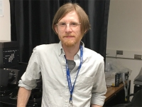 William Higgins receives Department of Energy graduate student award