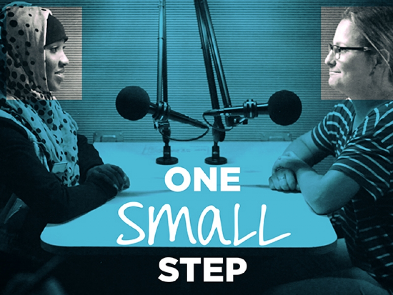 One Small Step project will pair people of differing political viewpoints for a conversation
