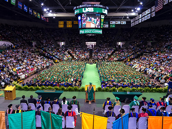 UAB doctoral hooding, commencement ceremonies are Aug. 9-10