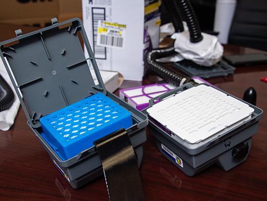 UAB's School of Engineering creates HEPA filters for PAPR machines