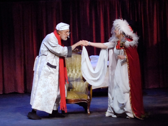 """A Dickens Vest Pocket Christmas Carol,"" fun for the entire family, Dec. 17 at UAB's Alys Stephens Center"