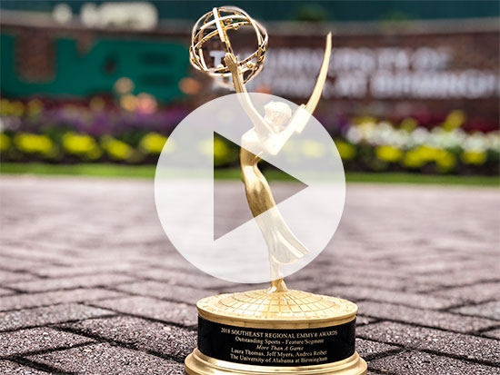 UAB wins first Emmy with football video