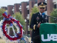 UAB Veterans Services hosts Annual Wreath-Laying Ceremony Nov. 10