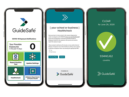 GuideSafeTM Exposure Notification App update to enhance overall user experience