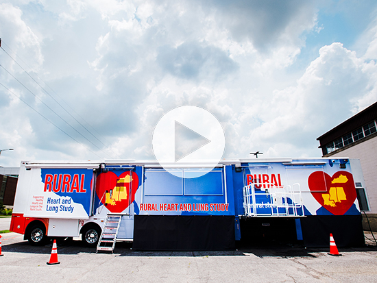 UAB uses mobile clinic to examine disease risk of rural Southerners